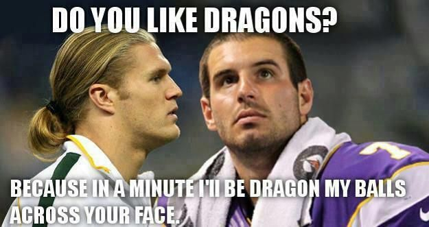 Green Bay Packers | NFL Memes, Sports Memes, Funny Memes, Football Memes, NFL Humor, Funny Sports - Part 3.... Well this almost made me pee my pants. So funny!