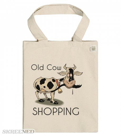 Old Cow Shopping - ECO Tote bags