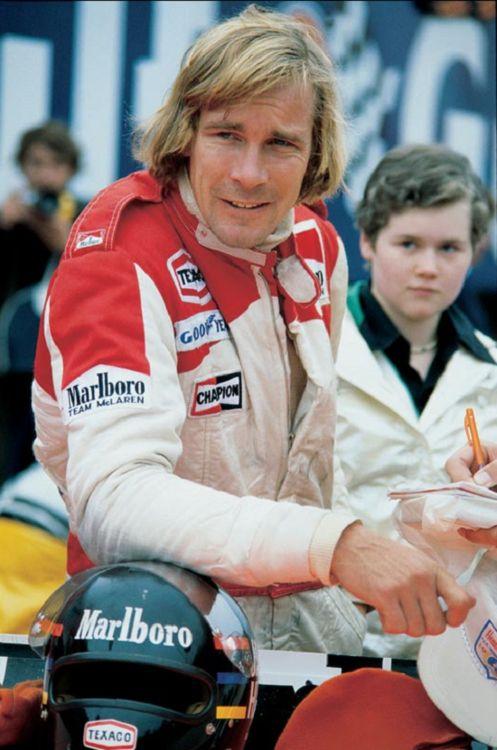 James Hunt 1978 with McLaren