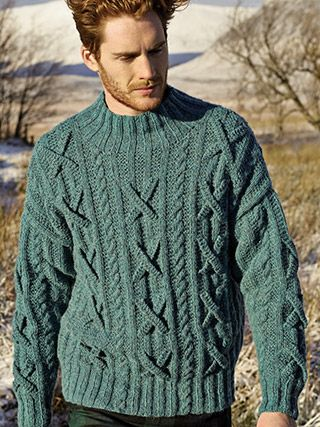 Fergus from Rowan Knitting and Crochet Magazine No. 56 (ZM56) features handknitting and crochet designs. 3 Stories are featured: WILDERNESS - CRAFTWORK and ESSENTIALS ... | English Yarns