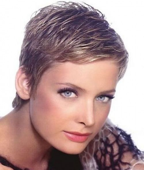 Short Edgy Pixie Hairstyles