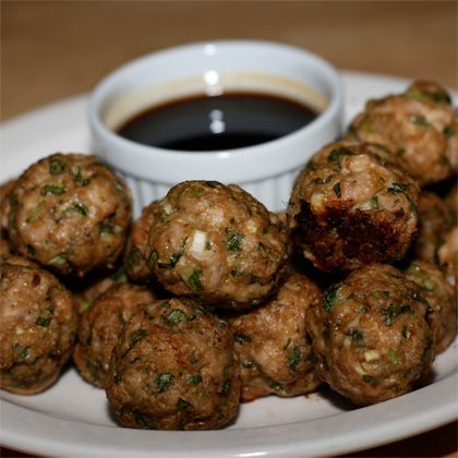 Chinese-Style Turkey Meatballs | Ground Turkey Recipes - 10 Quick Fixes |