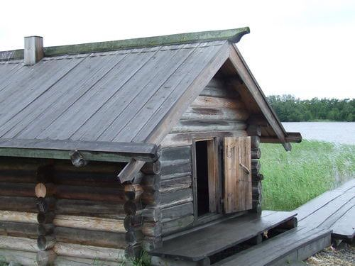 Village on Kizhi, Russia | russian banya steam bath or sauna is an important part of russian ...