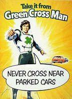 Green Cross Code Man