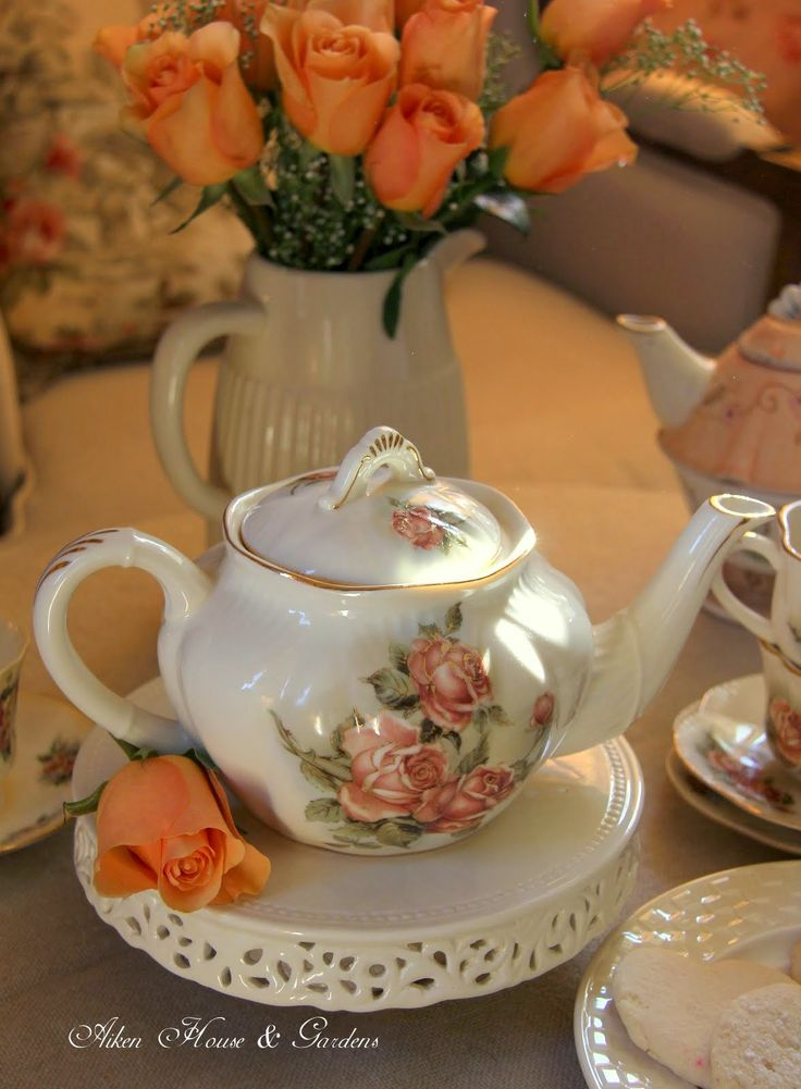 Aiken House & Gardens: Country Rose Afternoon Tea