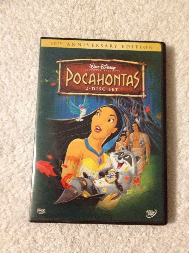 Pocahontas 2 Disc DVD Set 10th Anniversary Edition | eBay