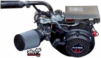 Titan TX200S 6 5hp OHV Powersport Engine, optional Gokart Stage 1