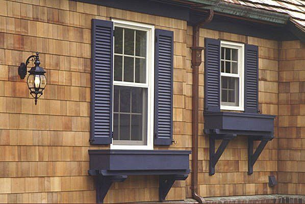 We Need A Shutter Color For Our Cedar House Black