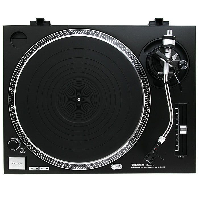 Technics SL 1210 - the best record player in the world! Nearly all the professional DJs who use records got 2 of these... - but it's also nice in your own flat, it's not only a piece of technology, it's technical perfection wrapped in beautyful simplistic design!