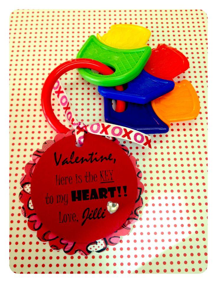 under gift infant valentine teethers