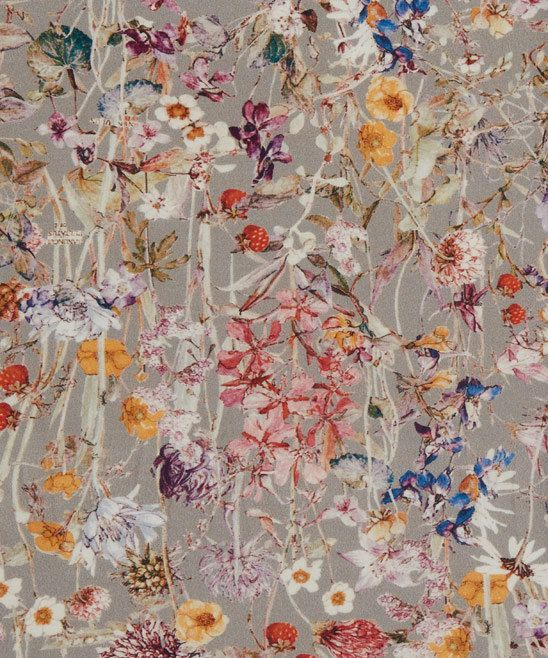 Liberty of London tana lawn fabric manufactured within the United Kingdom  Design : Wild Flowers NEW DESIGN 2015 Fabric : 100% cotton tana lawn Size :