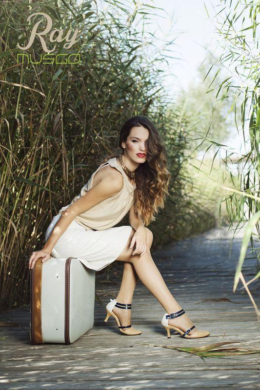 lookbook verano 2015 - RAY MUSGO Zapatos ecologicos de mujer #suitcase #maleta #retro #vintage #shoes #zapatos #design #diseño #moda #fashion #eco #green #modasostneible