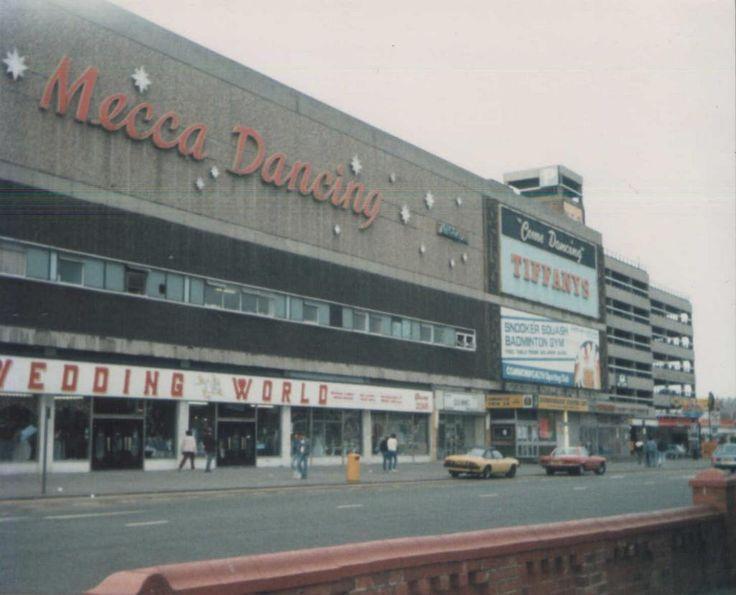 """Come Dancing"" The Mecca Complex on Central Drive, Blackpool, circa 1982."