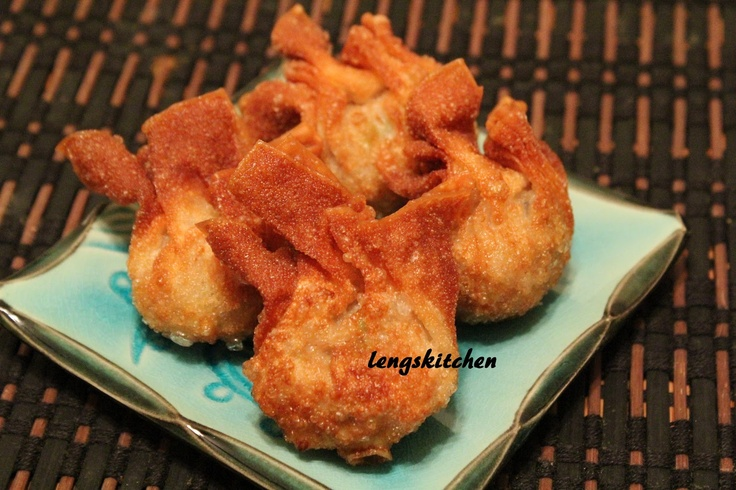 Fried Pork and Shrimp Wonton 炸云吞