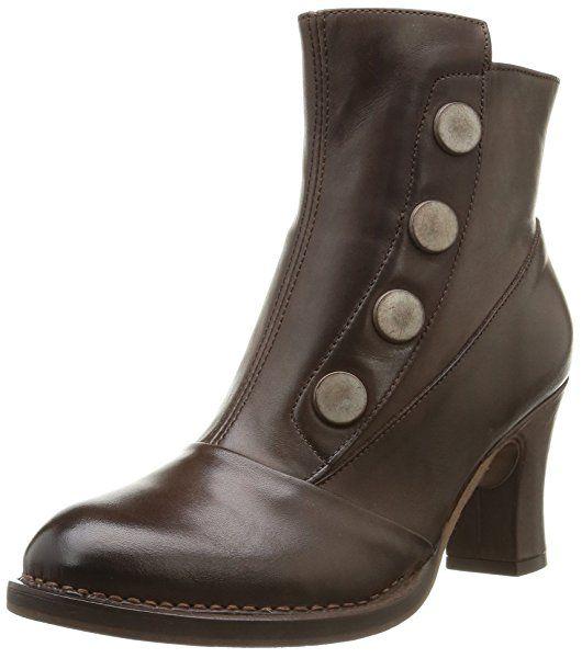 Psuzza Leather Boot Chelsea Black Noos, Bottes Non-à Enfiler, Tige mi-Haute Femmes - Noir - Noir, 41 EUPieces