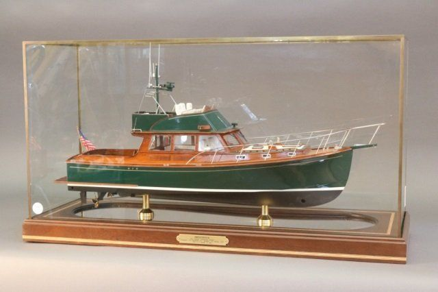 "Killer Model of the Downeast Cruiser ""Impatience"""