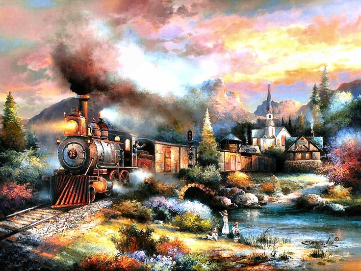 Maryland Mountain Express by James Lee