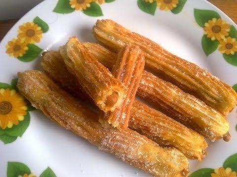 dulces secretos - churro relleno de manjarblanco - 1/3 - YouTube