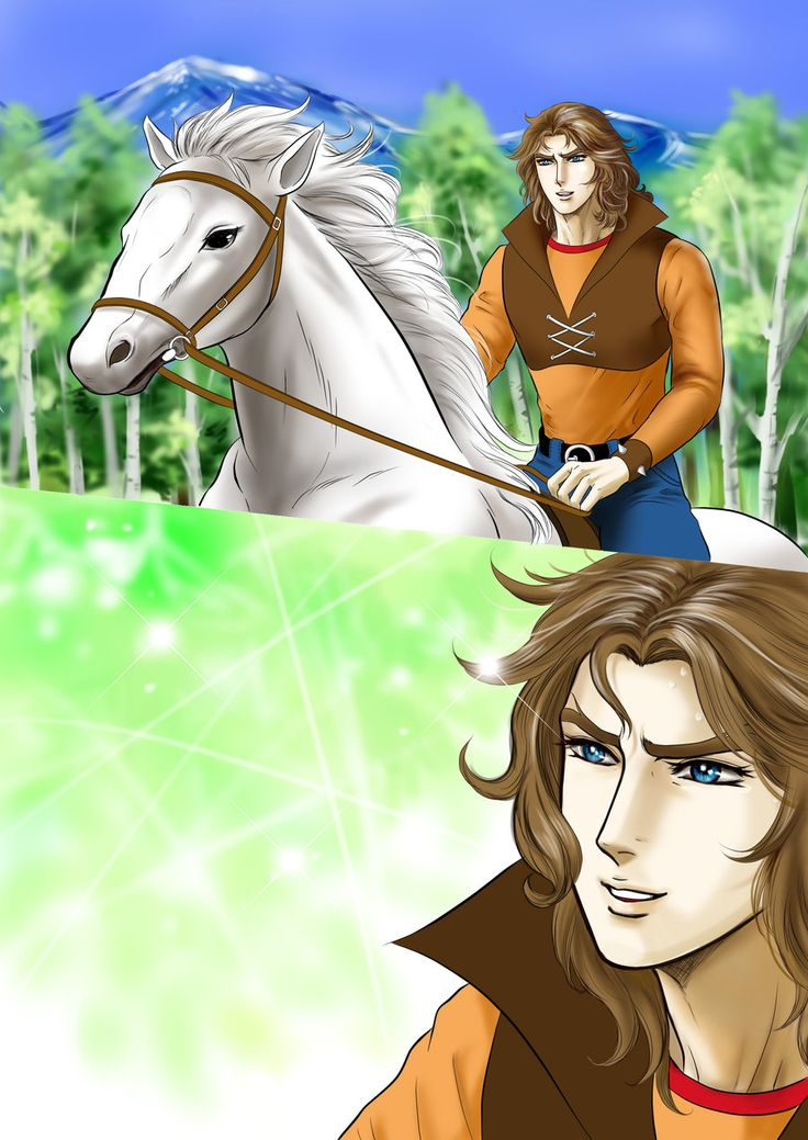 Duke and his horse by ieko2011.deviantart.com on @deviantART