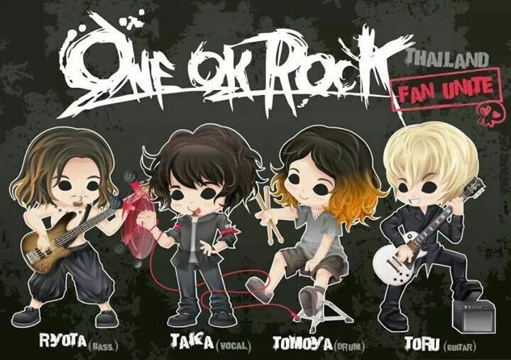 Kết quả hình ảnh cho one ok rock anime