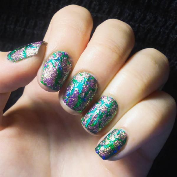 The 25 best crackle nails ideas on pinterest nail art with cute crackle nail designs and ideas 2017 styles art prinsesfo Image collections
