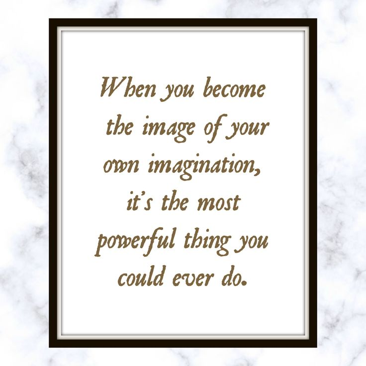 When you become the image of your own imagination, it's the most powerful thing you could ever do. - RuPaul - Quote - Print - Powerful Quote