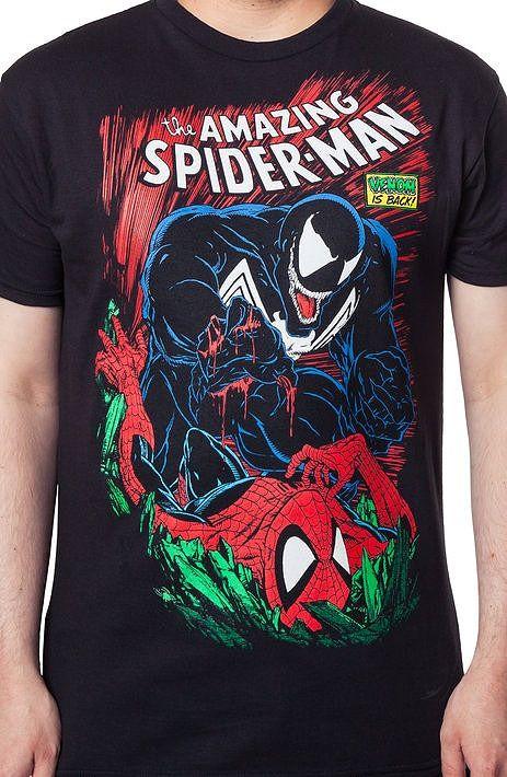 Spider-Man and Venom Shirt