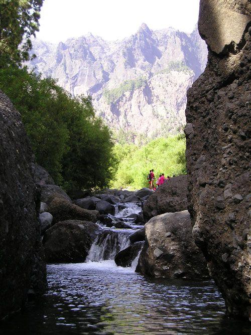 La Cadera de Taburiente La Palma  Canarias  Spain.