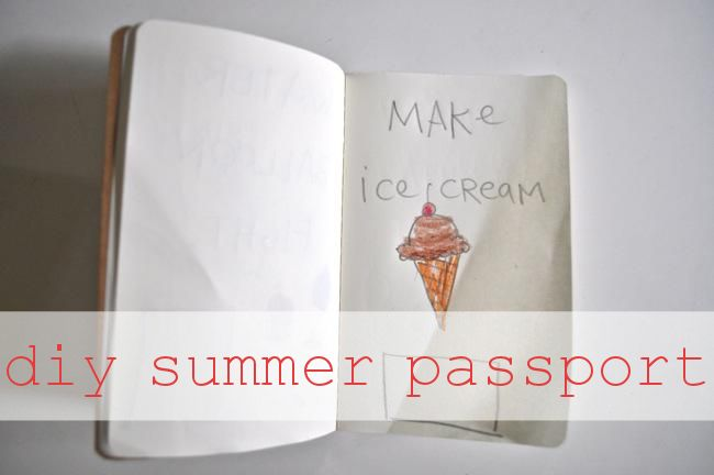 diy summer passport