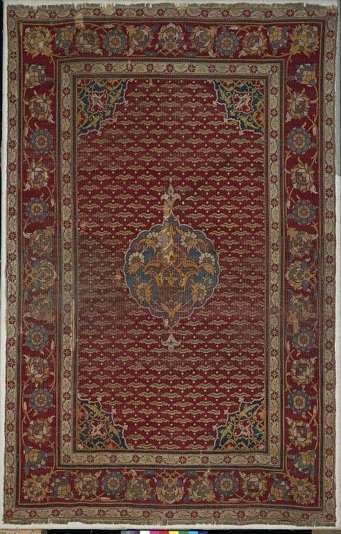 Carpet Place Of Origin Turkey Made Date Century