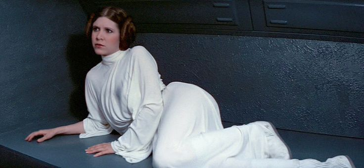 Princess Leia Organa - Star Wars - A New Hope - Carrie ... How Old Was Princess Leia In A New Hope
