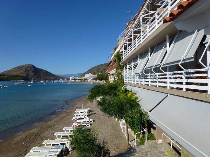 All rooms have sea view at Nelly's Hotel Tolo