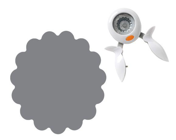 Furador Selo de Aprovação Médio Fiskars Squeeze Punch Médio Seal of Approval