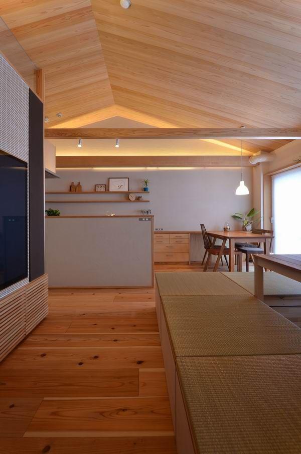 豊中の家 木のマンションリフォーム リノベーション設計実例 木の