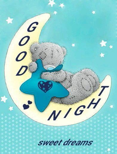 Good Night. Sweet dreams