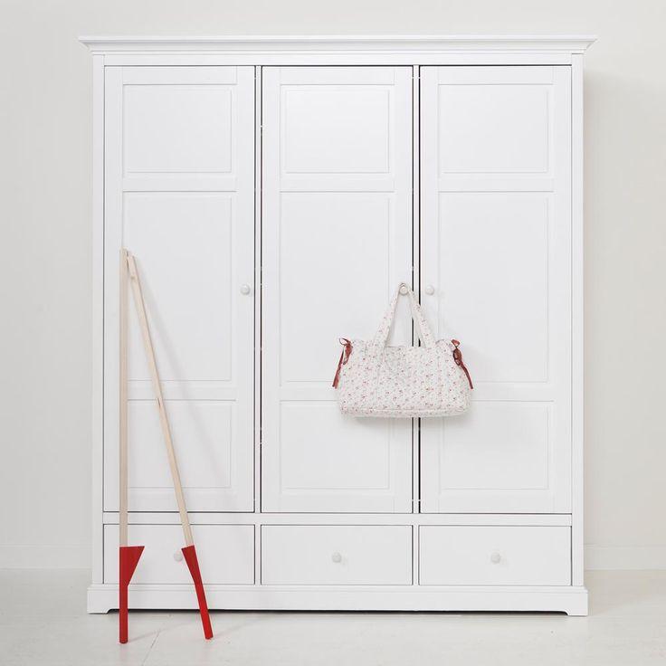 Wardrobe Kids - Oliver Furniture Denmark.  www.oliverfurniture.com