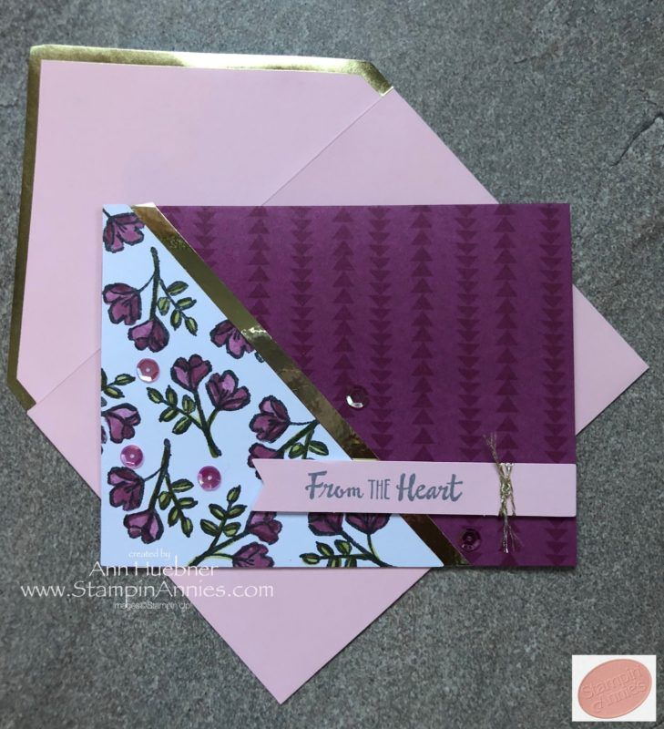 Petal Palette Floral Cards with Color Me Happy Project kit and Stampin' Blends