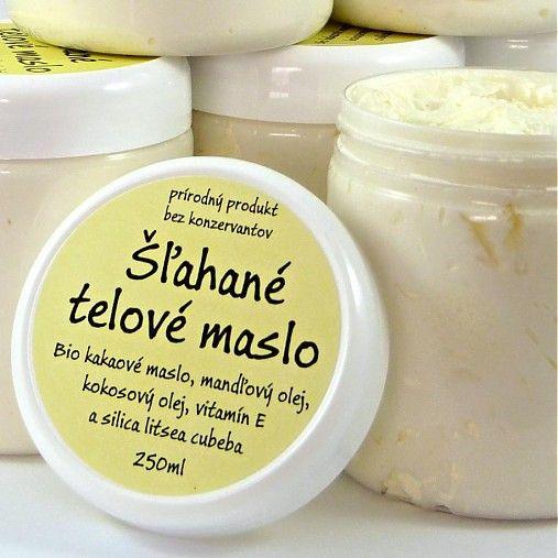 Mydlaren / Šľahané telové maslo s vôňou litsea cubeba 250ml