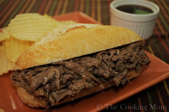 Ingredients: 4 to 5 pound beef chuck roast 3 teaspoons garlic powder 2 teaspoons black pepper 4 to 6 cups beef stock 1 bottle (12 ounces) beer 1 packet (1 ounce) dry onion soup mix Crusty sub rolls Directions: Season roast with garlic powder and pepper. Place roast in slow cooker. Dump the rest of …