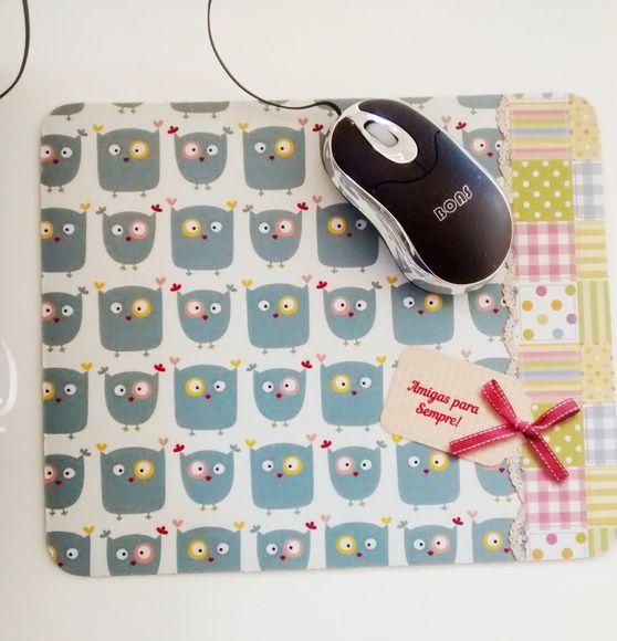 Lindo presente, que agrada pessoas especiais.  mouse pad personalizado com frases.  retangular  tamanho 23x19x2mm      Enviamos layout para aprovação após pagamento! R$ 15,00