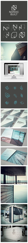 NORDIC BUILT - Branding, Exhibition Design | #stationary #corporate #design #corporatedesign #logo #identity #branding #marketing <<< repinned by an #advertising agency from #Hamburg / #Germany - www.BlickeDeeler.de