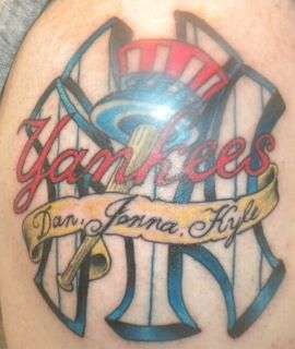 155 best images about ny yankees on pinterest new york for New york yankees tattoo