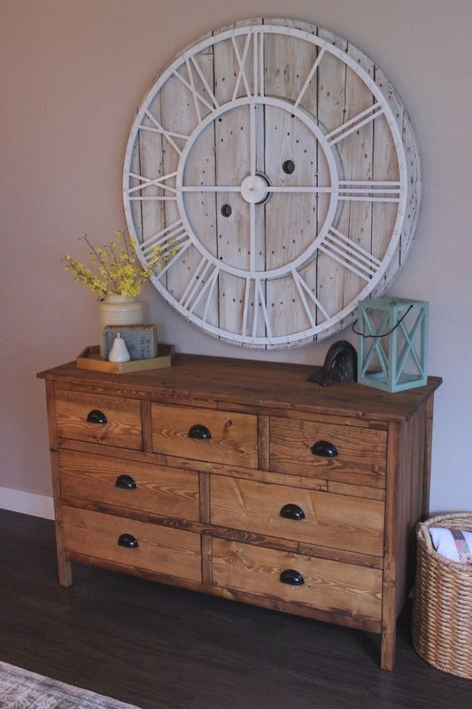 Dresser, rustic, ana white, furniture, modern, fixer upper, build #theruggedrooster