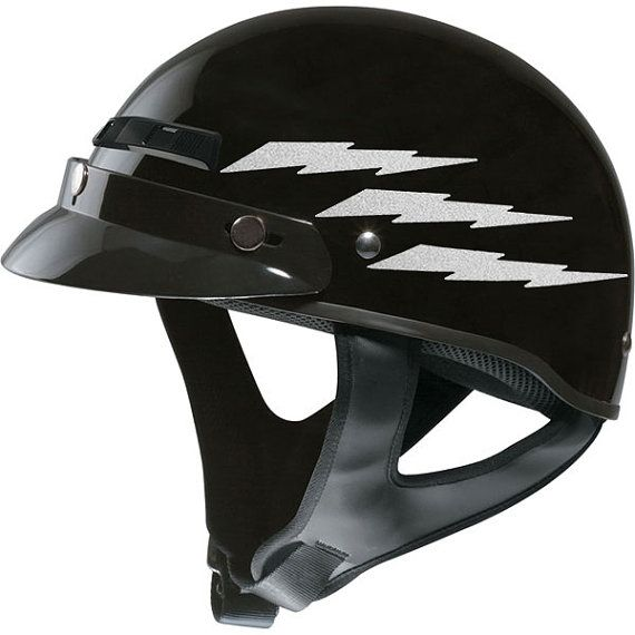 Best Safety Reflective Decals Images On Pinterest Safety - Reflective helmet decals stickers