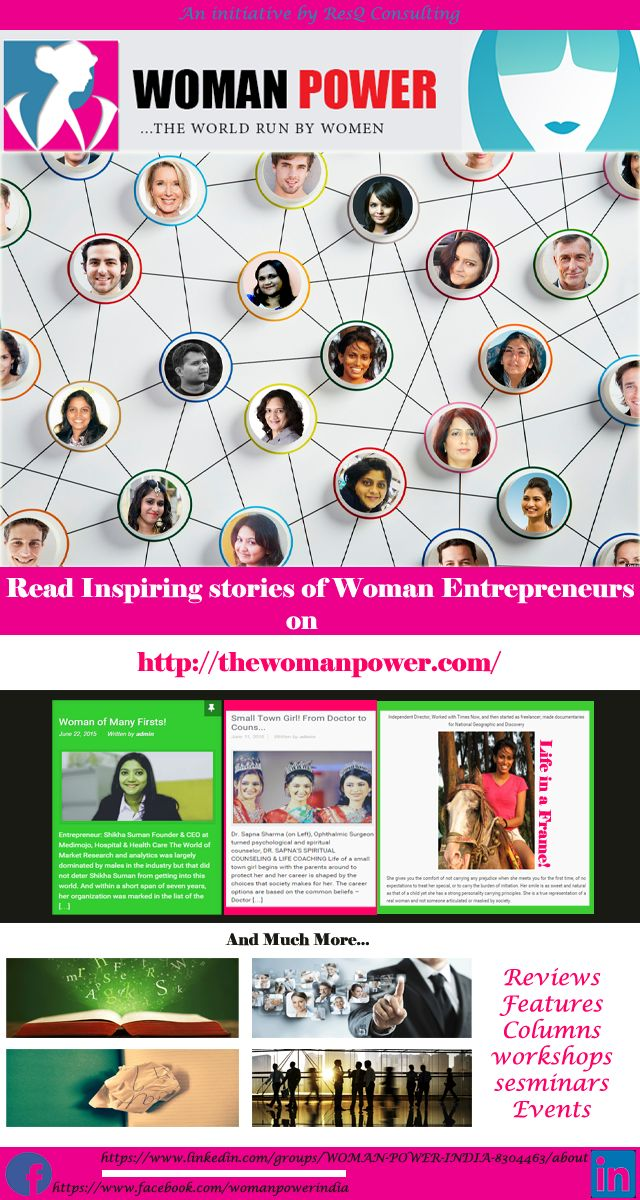 Introduction to WOMAN POWER - A platform for women in business