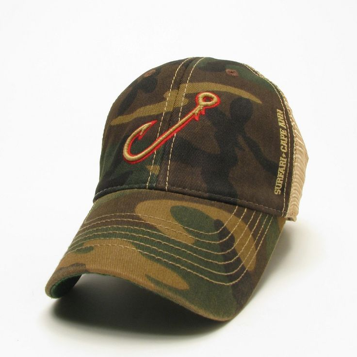 627 best truckers hats images on pinterest trucker hats for Fishing hooks for hats