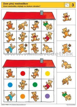 visuele discriminatie voor kleuters / preschool visual discrimination)