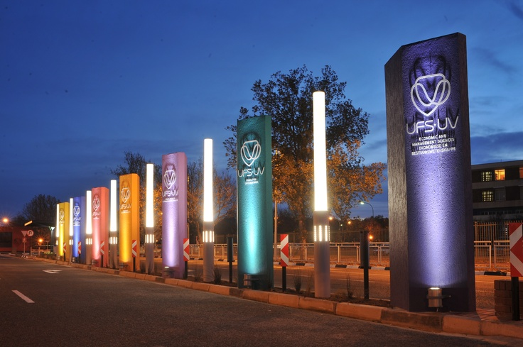#Study at University of the Free State, entrance to the Bloemfontein Campus - send us a #Blog! diggsinfo@diggs.co.za