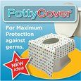 Amazon.com : PottyCover - Disposable toilet seat covers. (6 individually packaged seat covers in each bag.) : Toilet Training Seat Covers : Baby