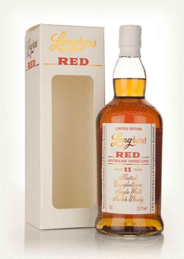 Longrow Red 11 Year Old - Australian Shiraz Cask - saline, smooth, can taste a bit of the shiraz/wine finish